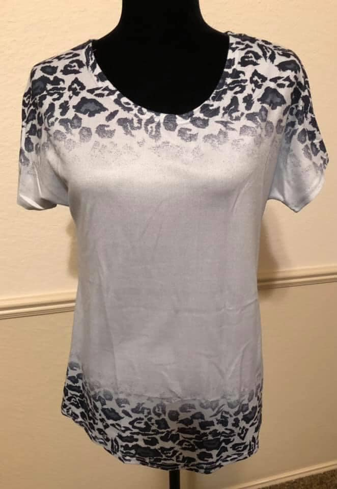 Cheetah Top - SIZE SMALL