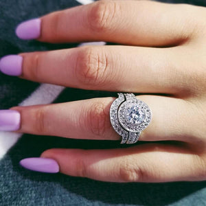 STERLING SILVER RING - 2 Pcs