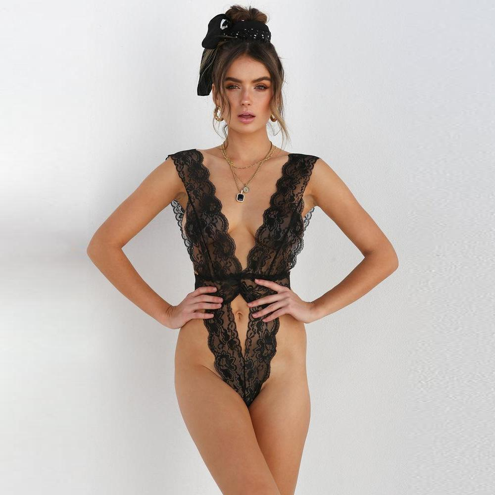 Olivia Floral Lace Up Bodysuit