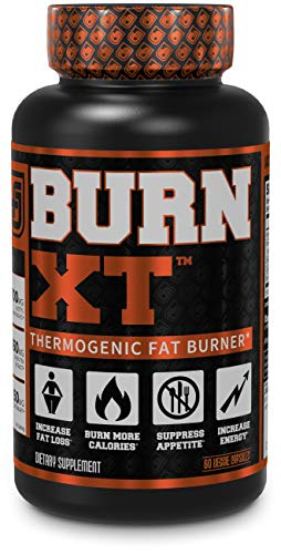 BURN-XT Thermogenic Fat Burner - Weight Loss Supplement, Appetite Suppressant, Energy Booster - Premium Fat Burning Acetyl L-Carnitine, Green Tea Extract, More - 60 Natural Veggie Diet Pills: Health & Personal Care