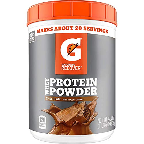 Gatorade Whey Protein Powder, Chocolate, 22.4 Ounce