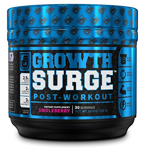 Growth Surge Post Workout Muscle Builder with Creatine, Betaine, L-Carnitine L-Tartrate