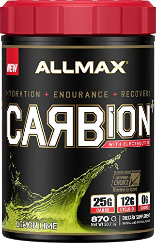 ALLMAX Nutrition Carbion+, Maximum Strength Electrolyte and Hydration Energy Drink