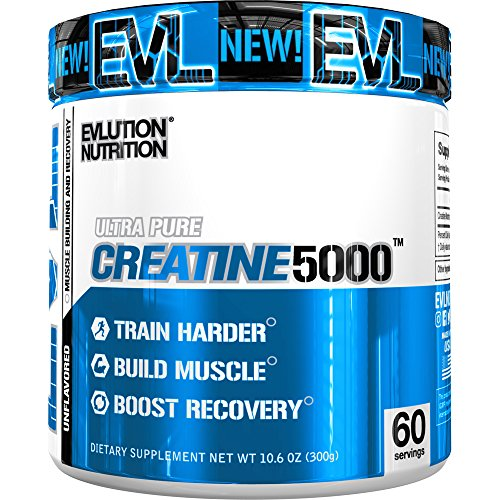 Evlution Nutrition Creatine5000 5 Grams of Pure Creatine