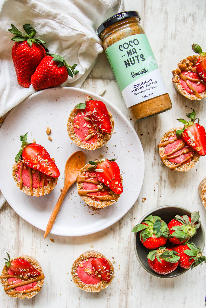 Strawberry Almond Butter Summer Tarts