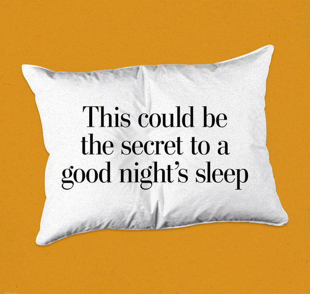 This secret to sleeping success comes from within.