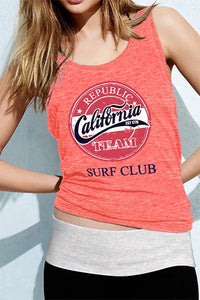"""California Surf Club"" Tank Top"