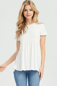 Baby Doll Short Sleeve Top