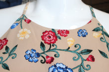 Load image into Gallery viewer, Floral High Neck Tank