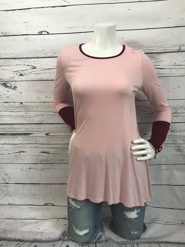 3 Button Sleeve Top