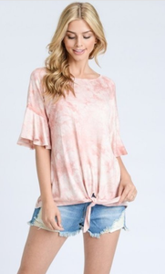 Tie Dye with Knot Top