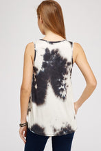 Load image into Gallery viewer, Tie Dye Tank with Knot Tie