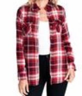 Load image into Gallery viewer, Plaid Flannel Button Up Top