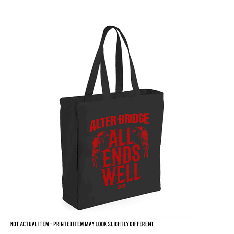 ALL ENDS WELL: CANVAS TOTE