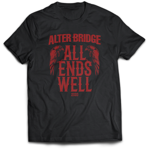 ALL ENDS WELL: ADULT DOUBLE CROW T-SHIRT [PRE-ORDER]