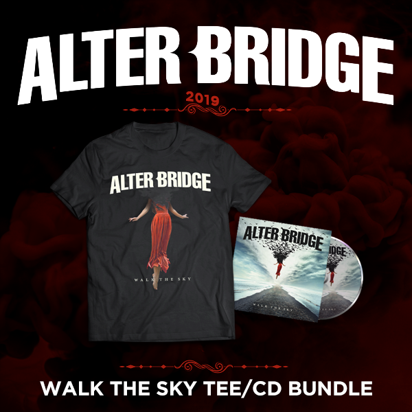 Alter Bridge: Walk the Sky - The Flying Girl Tee + CD Bundle
