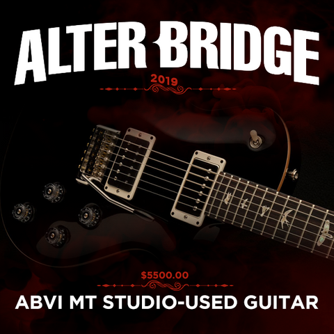 ABVI MARK TREMONTI STUDIO-USED PRS GUITAR