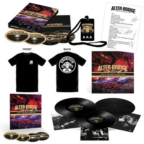 AB RAH - Exclusive Gold II Bundle (Limited 75 / Signed)