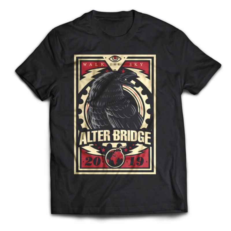 "ALTER BRIDGE - ""SKY CROW"" TEE"