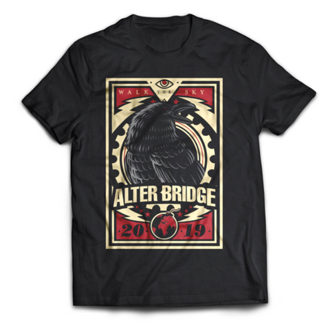 "ALTER BRIDGE - ""SKY CROW"" TEE [BLOWOUT SALE]"