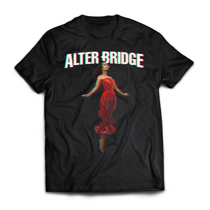 "ALTER BRIDGE - ""FLYING GIRL 3D"" TEE"