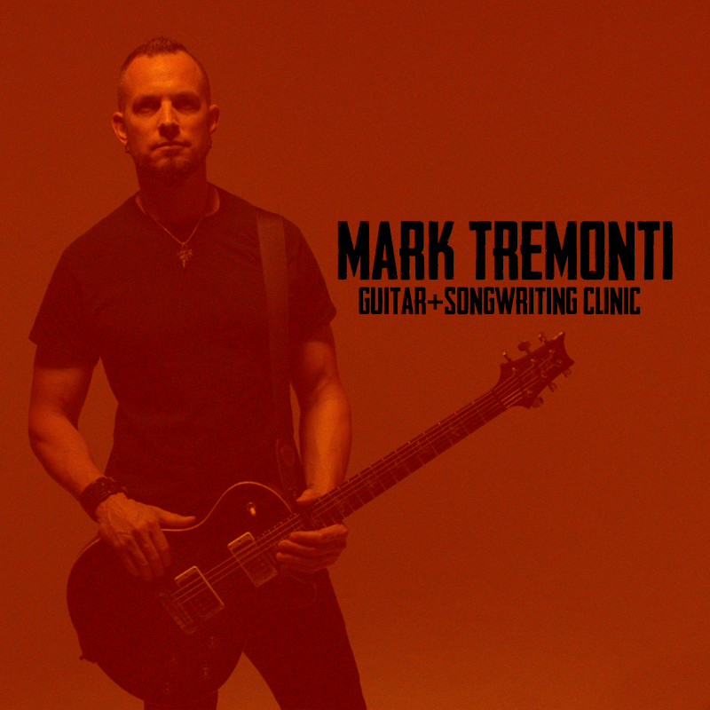 Mark Tremonti Guitar/Songwriting Clinic (UK/EUROPE)