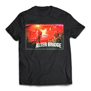 "ALTER BRIDGE - ""AB IN RED"" TEE"