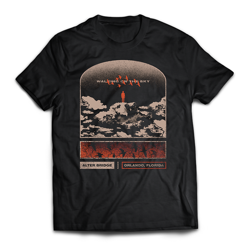 "ALTER BRIDGE - ""WALKING ON THE SKY"" TEE (LIMITED)"