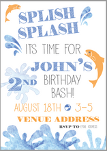 Load image into Gallery viewer, Splish Splash Birthday Bash
