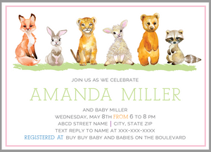 Baby Animal Shower