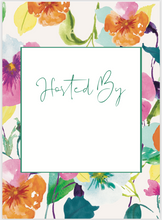 Load image into Gallery viewer, Spring Floral Border Invitation