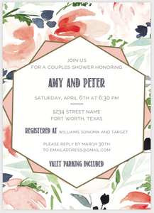 Geometric Frame Invitation