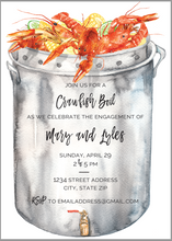 Load image into Gallery viewer, Crawfish Boil Invitation