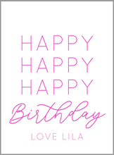 Load image into Gallery viewer, Happy Birthday Gift Tags