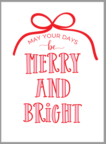 Merry and Bright Tags