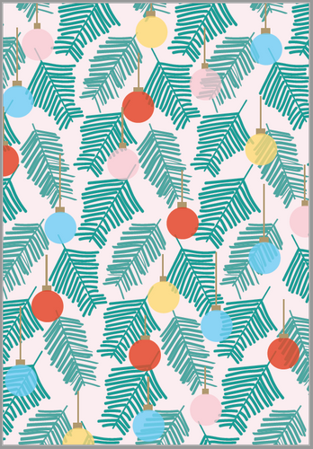 Ornaments Wrapping Paper