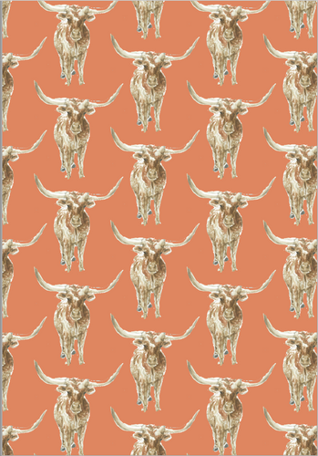 Horns Wrapping Paper