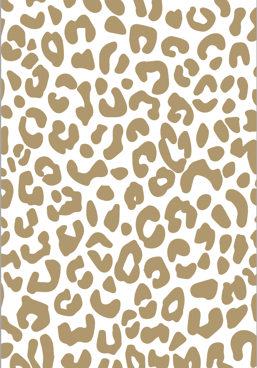 Gold Leopard Wrapping Paper