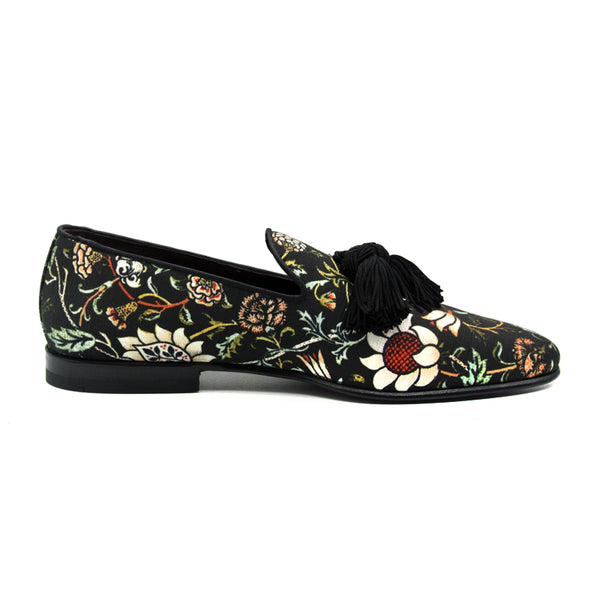 10-515-BLK FANTASIA Floral Slip On, Black
