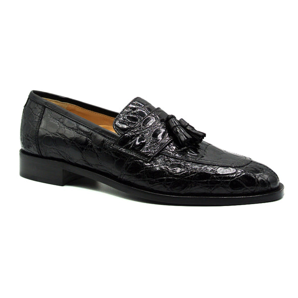 101BL AVIANO Crocodile Black