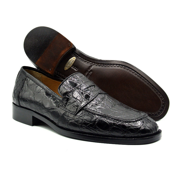 RENAISSANCE Crocodile Black