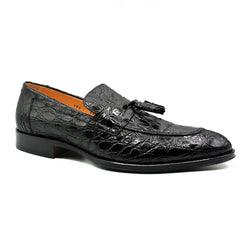 11-203-BKM COMO Crocodile Black