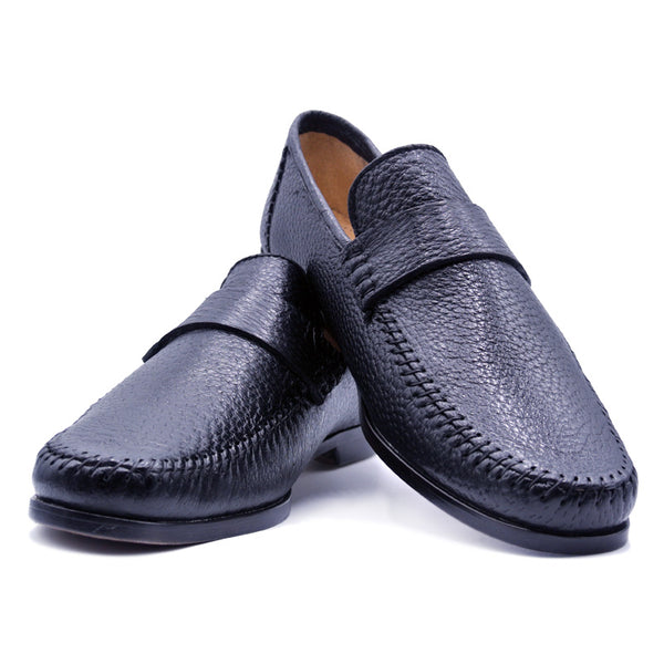 PARMA Peccary Loafer, Black
