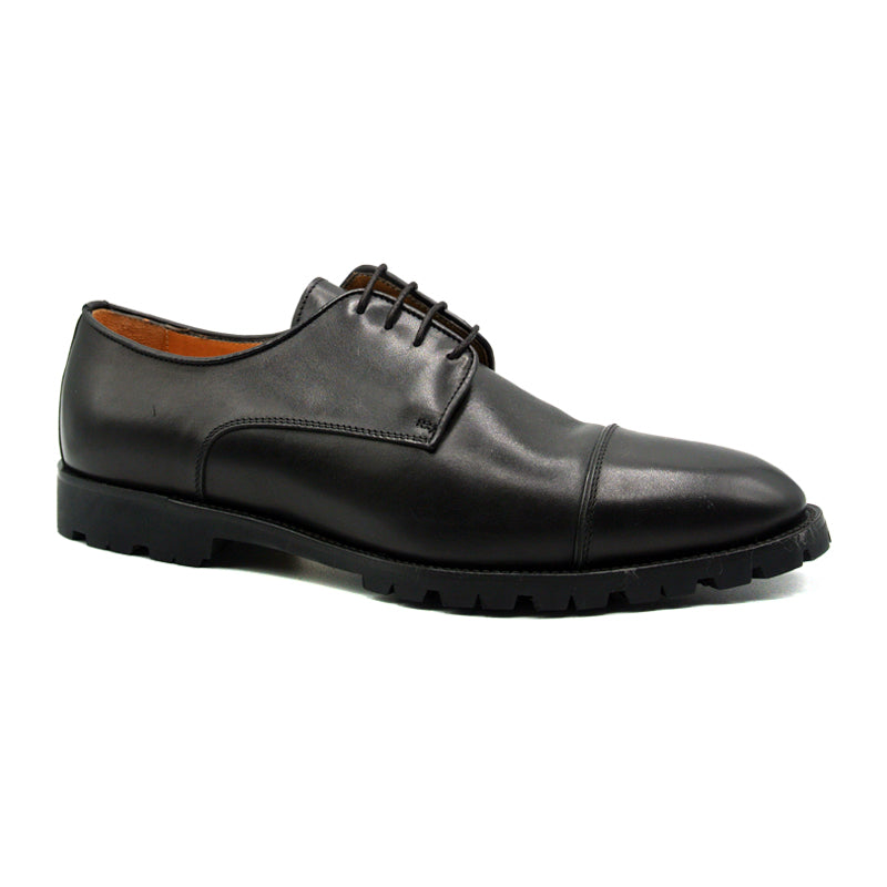 25-865-BLK JAMES Italian Calfskin Black