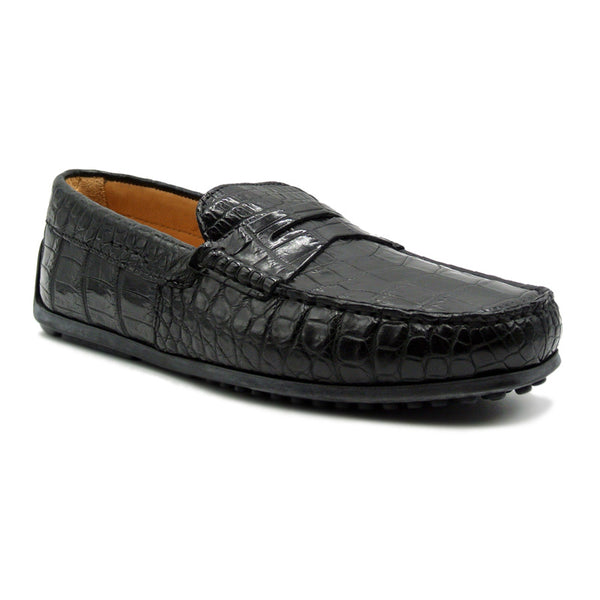 MONZA Nile Crocodile Driver, Black
