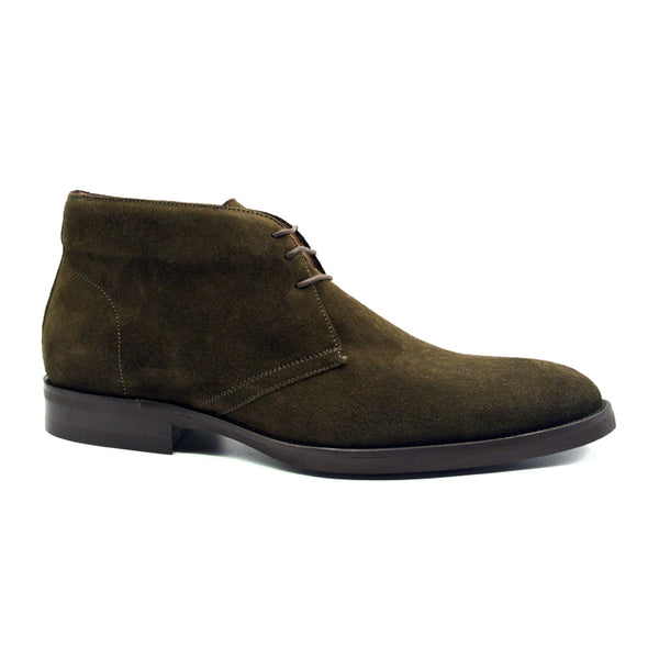 MARCO Suede Calfskin Chukka Boot, Olive