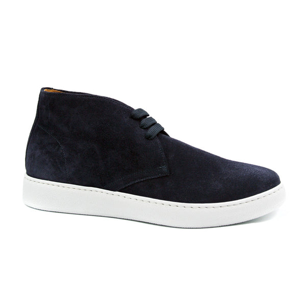 46-597-NVY OTTO Sueded Chukka Boot, Navy