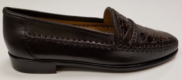 ELITE Crocodile and Italian Calfskin