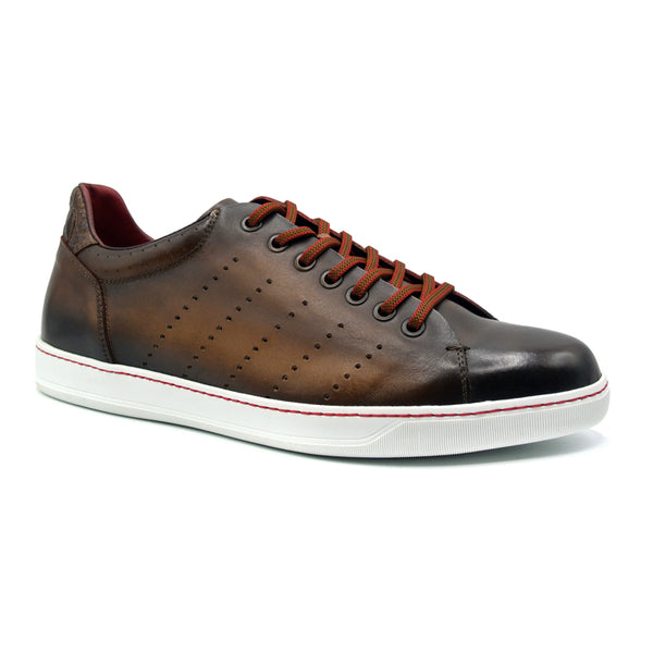 RUSSO Burnished Italian Calfskin - Brown