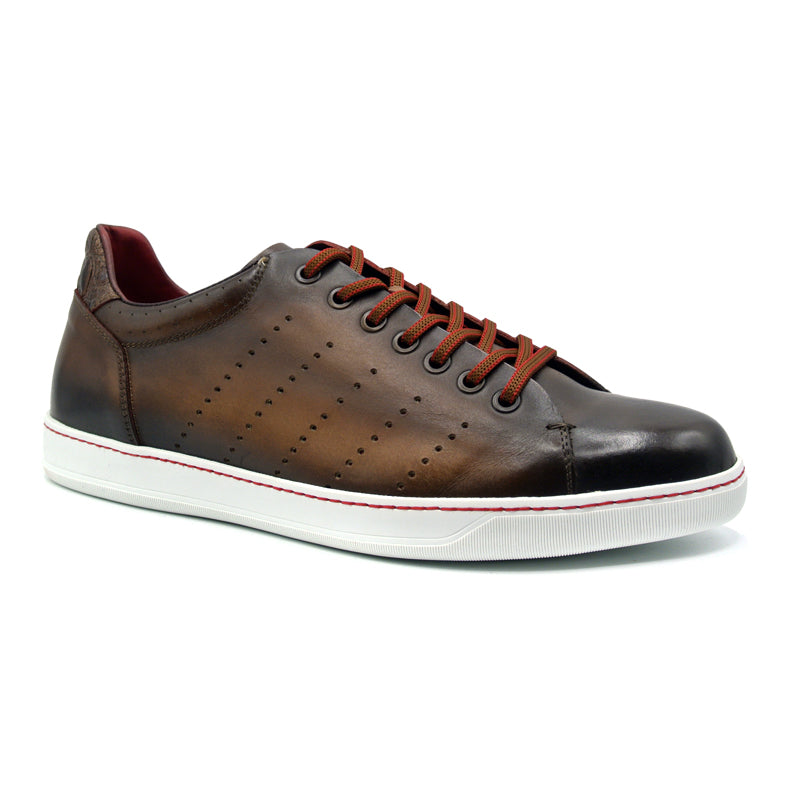 65-201-BRN RUSSO Burnished Italian Calfskin - Brown